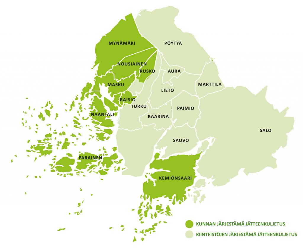 LSJH aluekartta
